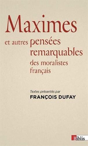 Dufay_Maximes et pensées.jpg