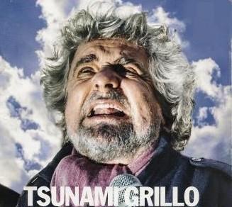 Beppe Grillo, gauche, Institutions, Mario Monti, oligarchie, populisme, Silvio Berlusconi, Union européenne