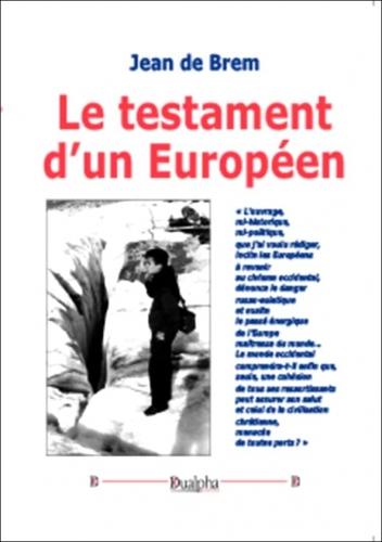 Brem_Testament d'un européen.jpg