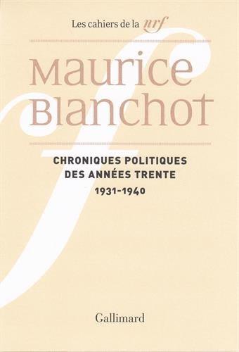 Blanchot_Chronique politique des années 30.jpg