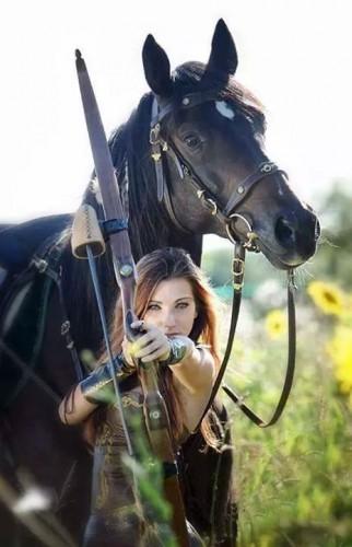 Archère et cheval.jpeg